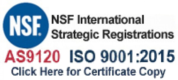 Certificate of Registration for Aircraft Fasteners International